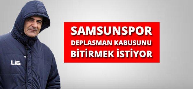 """Samsunspor'un Sportif Direktörü Zeren, """"Samsunspor Deplasman Kabusunu Bitirmek İstiyor"""""""