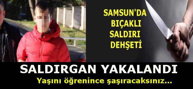 Samsun'da İki Kişiyi Bıçaklayan Şahıs Yakalandı