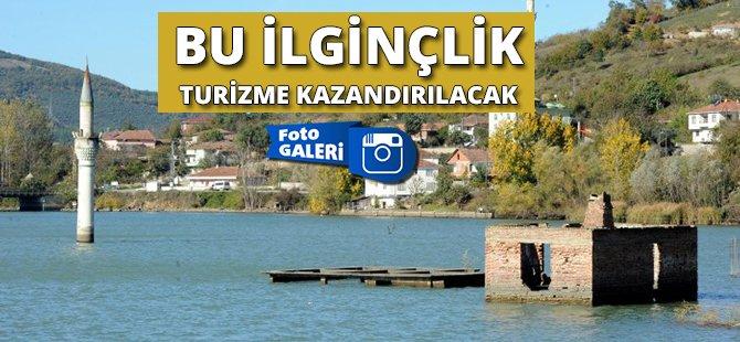 """Samsun'da """"Batık Minare"""" Turizme Kazandırılacak"""