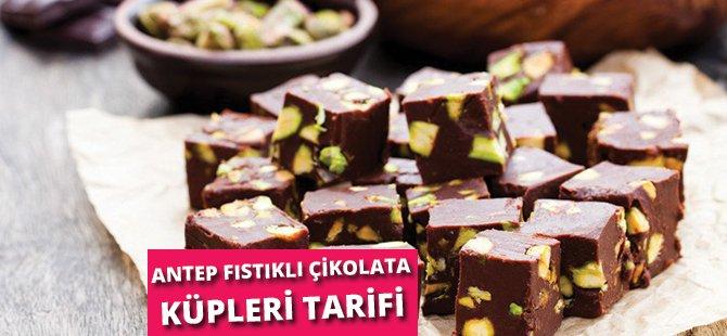 Antep Fıstıklı Çikolata Küpleri Tarifi