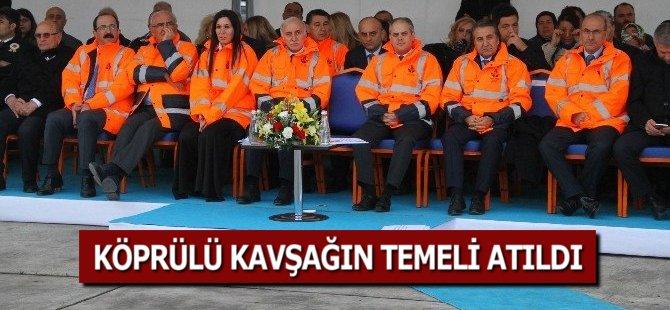 Bakanlar Samsun'da Köprülü Kavşağın Temelini Attılar