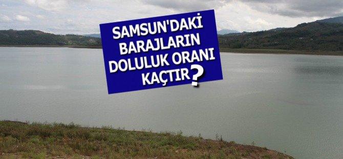 Samsun'daki Barajların Doluluk Oranı Kaçtır?