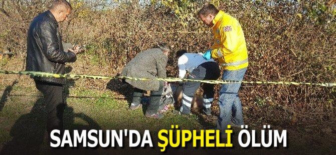 Samsun'da Yaşlı Adam Tarla Kenarında Ölü Bulundu