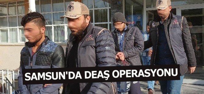 Samsun'da 8 Deaş Şüphelisi Adliyeye Sevk Edildi