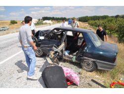 Yozgat'ta Trafik Kazası: 1 Ağır 10 Yaralı
