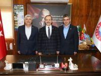 Samsun Memur-Sen'den Başkan Şahin'e Ziyaret