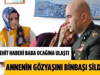 Nusaybin Şehidinin Amasya'daki Baba Ocağında Yas Var