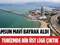 Samsun'da 2 Plajımız Mavi Bayrak Aldı