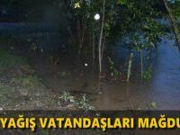 Samsun'da Aşırı Yağış Vatandaşları Mağdur Etti