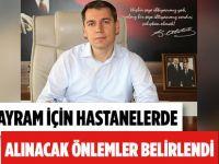 """Samsun'da Hastanelerde Alınan """"Bayram"""" Önlemi"""