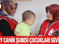 Türk Kızılayı Canik Şubesi Bu Bayramda da Çocukları Sevindirdi