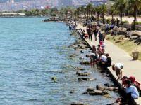 Samsun'da Vatandaşlar Sahillere Akın Etti
