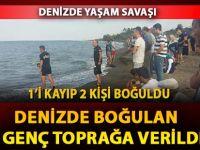 Samsun'da Denizde Boğulan 2 Genç Toprağa Verildi