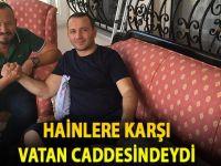 15 Temmuz Gazisi Harun Kantarcı Samsun'a Döndü