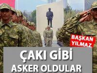 """Samsun Büyükşehir Belediye Başkanı Yılmaz; """"Çakı Gibi Asker Oldular"""""""
