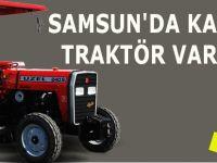 Samsun'daki Traktör Sayısı Ne?