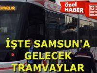 Samsun Bursa'dan Gelecek Yerli  Tramvayları Bekliyor