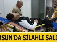 Samsun'da Silahlı Saldırı: 1 Yaralı