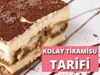 Kolay Tiramisu Tarifi