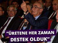 """Samsun Büyükşehir Belediye Başkanı Yılmaz, """"Üretene Her Zaman Destek Olduk"""""""