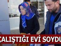 Samsun'da Temizlik Yaptığı Evin Altınlarını Çaldı