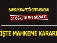 Samsun'da FETÖ Operasyonunda 12 Kişi Serbest Bırakıldı