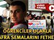 Samsun'da Öğrenciler Uçakla Bafra Semalarını Fethetti