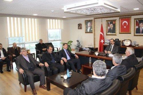19 Mayıs Ziraat Odası'ndan AK Parti'ye Ziyaret