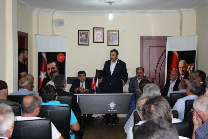 AK Parti Samsun Milletvekili Hasan Basri Kurt, Havza'da Partililer İle Bayramlaştı