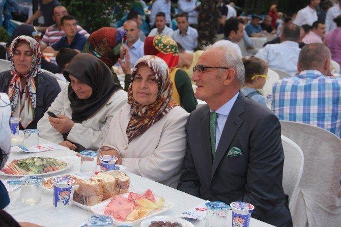 AK Parti Samsun İl Başkanlığı Bafra'da İftar Yemeği Düzenledi