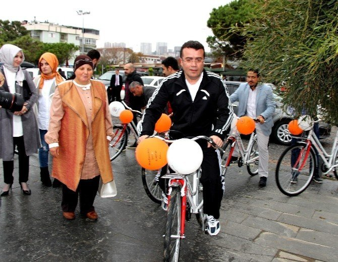 Sağlıklı Yaşam İçin Atakum'a 200 Bisiklet
