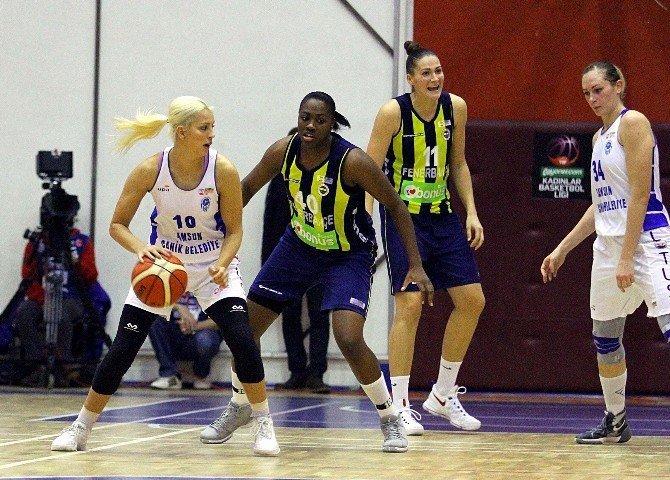 Bilyoner.com Kadınlar Basketbol Ligi'nde Canik Belediyespor Mağlup Oldu
