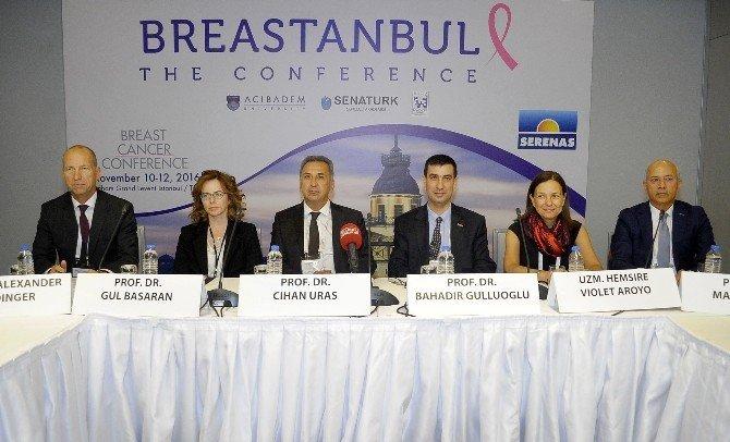 Dünyanın Önde Gelen Kanser Uzmanları 'Breastanbul'da