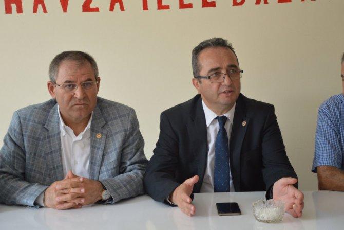 CHP Genel Başkan Yardımcısı Bülent Tezcan Samsun'da