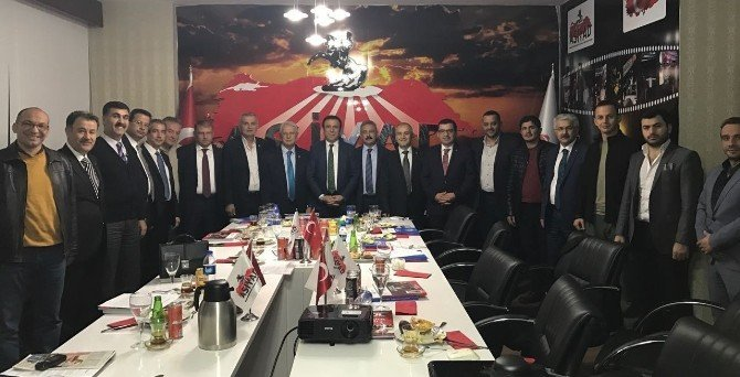 Başkan Genç Ankara'da İşadamları İle Buluştu