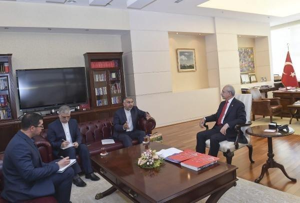 Kılıçdaroğlu İran Büyükelçisi Fard'ı Kabul Etti