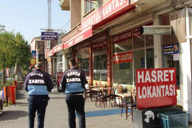 Samsun Havza'da Lokantalara Denetim