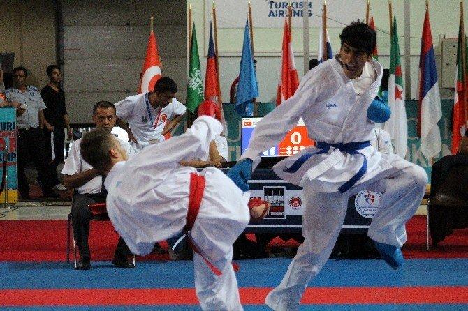 13. Uluslararası Palandöken Karate Turnuvası Açılış Töreni Yapıldı