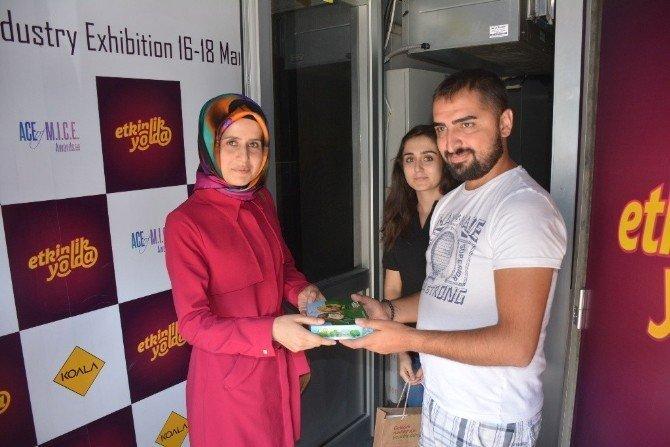 EXPO 2016 Tır'ı Gümüşhane'de
