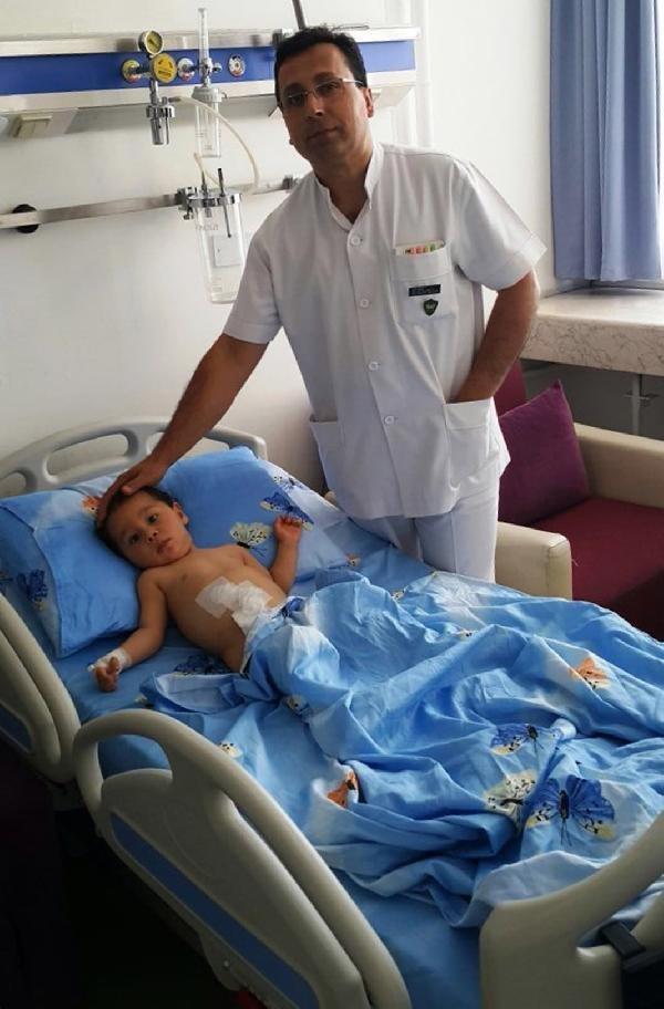 Gata'da Robotla Ameliyat Edilerek Sağlığına Kavuştu