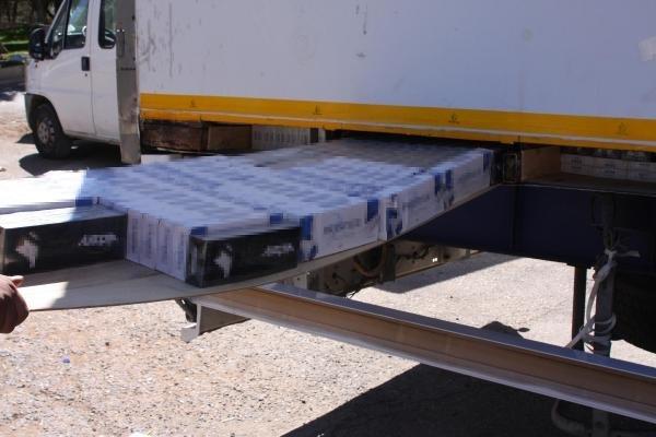Gaziantep'te 565 Bin Paket Kaçak Sigara Ele Geçirildi