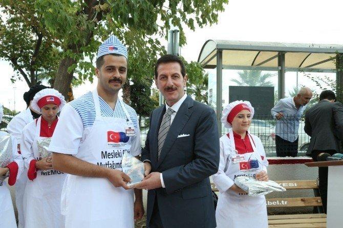 Samsun İlkadımlı Kursiyer Aşçılar Ödüllerini Aldı