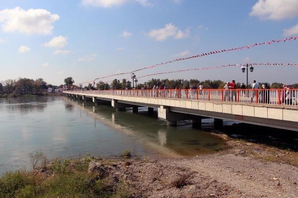 Samsun'da 25 Mahalleyi Birbirine Bağlayan Köprüyü Bakan Kılıç Açtı