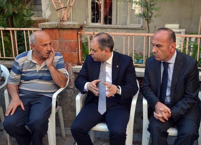 Gençlik Ve Spor Bakanı Kılıç Kayır Ailesini Ziyaret Etti