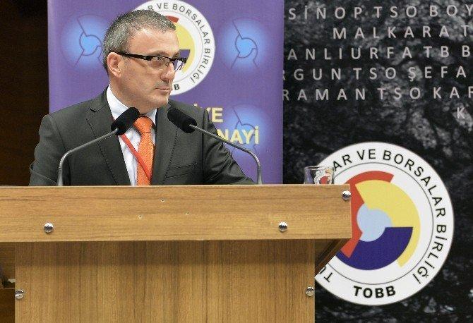 Giresun TSO Başkanı Hasan Çakırmelikoğlu Samsun'dan Batum'a Demiryolu Bağlantısı İstedi