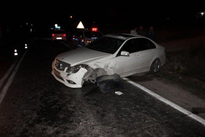 Samsun'da İki Otomobil Çarpıştı: 5 Yaralı