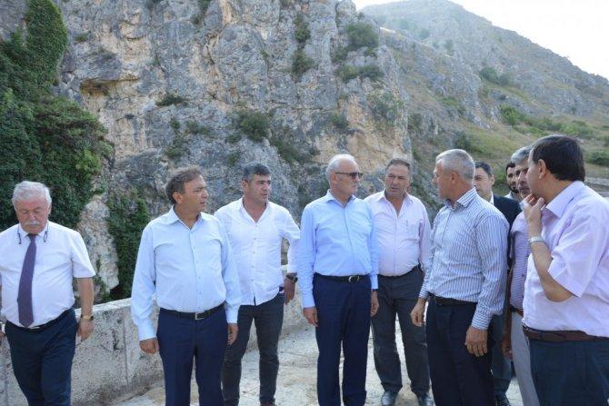 Samsun Büyükşehir Belediye Başkanı Yılmaz Havza'yı Ziyaret Etti