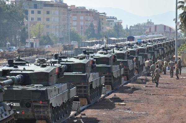 İslahiye'ye Tank Sevkiyatına Devam