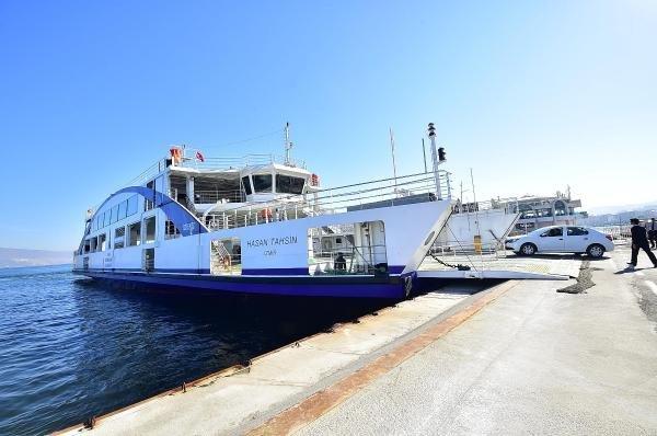 İzmirliler Yeni Arabalı Vapurları Sevdi