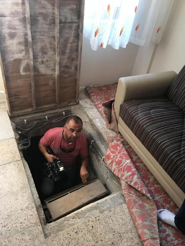 FETÖ'nün Okulunda Gizli Tünel Ortaya Çıktı